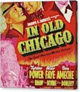 Classic Movie Poster - In Old Chicago Canvas Print