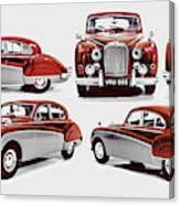 Classically British Canvas Print