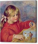 Claude Renoir At Play Canvas Print