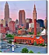 Cle Is Lookin Good Canvas Print