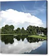 Clear Reflection Canvas Print