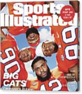 Clemson University Defensive Line, 2018 College Football Sports Illustrated Cover Canvas Print