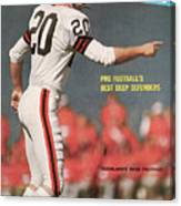 Cleveland Browns Ross Fichtner... Sports Illustrated Cover Canvas Print