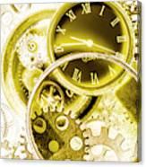 Clock Watches Canvas Print