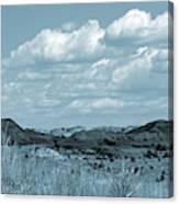 Cloud Dance Shadows Canvas Print