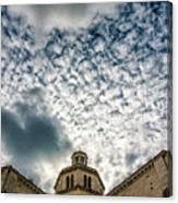 Cloud Or Two Canvas Print