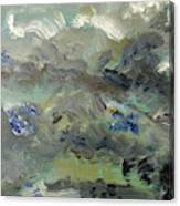 Clouds Before Rain In Summer Canvas Print