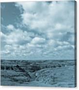 Cloudy Prairie Reverie Canvas Print