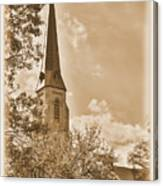 Clustered Spires Series - All Saints Episcopal Church No. 8cs - Frederick Maryland Canvas Print