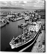 Clydeside Port Canvas Print