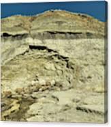 Coal Vein Makoshika State Park  Canvas Print