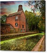 Coalport Bottle Kiln Sunset Canvas Print