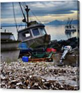 Coastal Fishing Vancouver Island Canvas Print