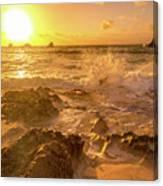 Coastal Sunrise Spectacular  Canvas Print