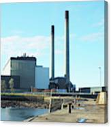 Cockenzie Power Station Canvas Print