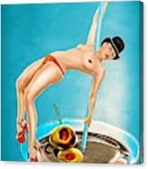 Cocktail Dance Canvas Print