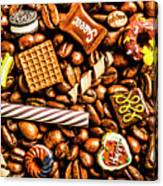 Coffee Candy Canvas Print