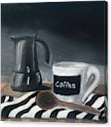 Coffee Time Canvas Print