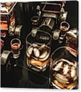 Cognac Cars Canvas Print