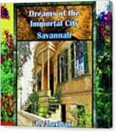 Collectible Dreaming Savannah Book Poster Canvas Print