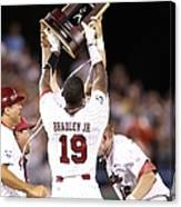 College World Series - Game Two Canvas Print
