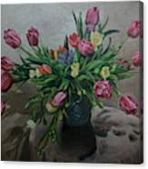 Color Of Natureoil Canvas Print