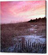 Color Over The Dunes Canvas Print