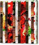 Colored Windows Canvas Print