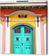 Colorful Door Canvas Print