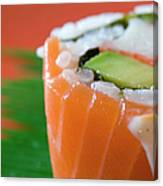 Colorful Sushi Canvas Print