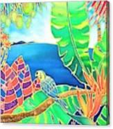Colorful Tropics 16 Canvas Print