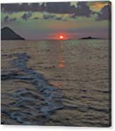 Colors Of The Sunrise Canvas Print