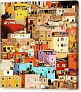 Colors On Hill Canvas Print