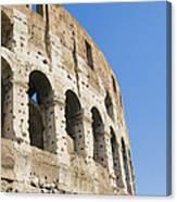 Colosseum Detail Canvas Print