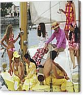 Colourful Crew Canvas Print