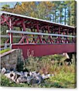 Colvin Covered Bridge Canvas Print