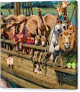 Come Aboard There's Plenty Of Room Ark Canvas Print