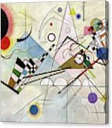 Composition 8 - Komposition 8 Canvas Print