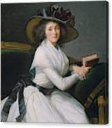 Comtesse De La Chatre Later Marquise De Jaucourt  Canvas Print