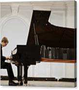 Concert In The Rachmaninov Hall Of The Canvas Print