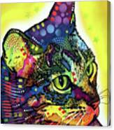 Confident Cat Canvas Print