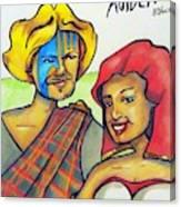 Connla and the fairy maiden 1060ce Canvas Print