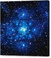 Constellation Digitally Generated Image Canvas Print