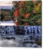 Contoocook River Reservoir  Canvas Print