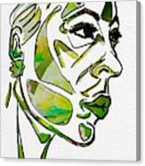 Cool Green Canvas Print