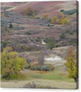 Copper Hills Autumn Canvas Print