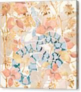 Coral Spring Garden Canvas Print