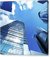 Corporate Building Canvas Print