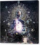 Cosmic Ritual Canvas Print