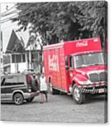 Costa Rica Soda Truck Canvas Print